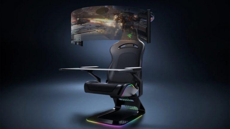 CES 2021: ریزر صندلی گیمینگ مفهومی خود را معرفی کرد