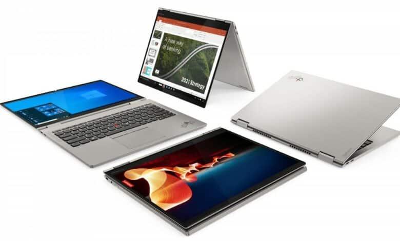 نمایشگاه CES 2021: لنوو انواع مختلف لپ تاب های حرفه ای ThinkPad خود را معرفی کرد