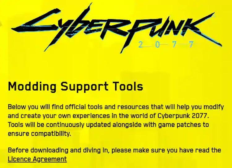 ابزار ساخت ماد برای بازی Cyberpunk 2077 به طور رسمی منتشر شد