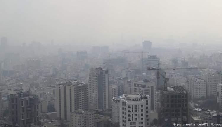 آلودگی هوا تا سه شنبه ادامه دارد